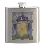 Celtic Doorway Flask