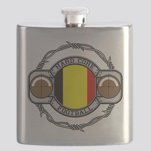 Belgium Football Flask