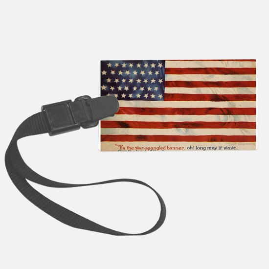 The star spangled banner Luggage Tag