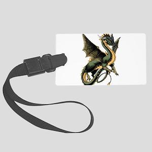 dragon Large Luggage Tag