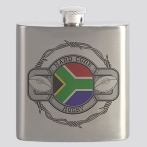 Hard Core South Africa Rugby Flask