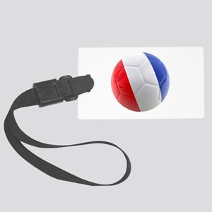France world cup ball Large Luggage Tag