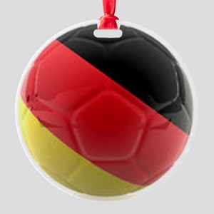 Germany world cup ball Round Ornament