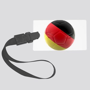 Germany world cup ball Large Luggage Tag