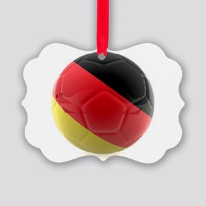 Germany World Cup Ball Picture Ornament