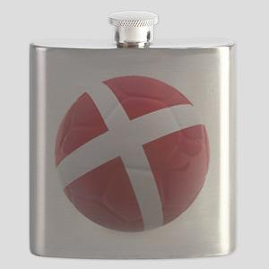 Denmark world cup ball Flask
