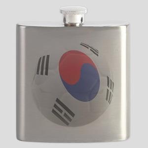 South Korea world cup soccer ball Flask