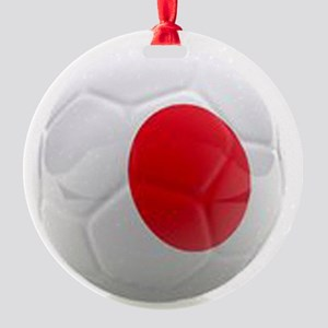 Japan World Cup Ball Round Ornament