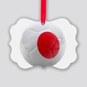 Japan World Cup Ball Picture Ornament