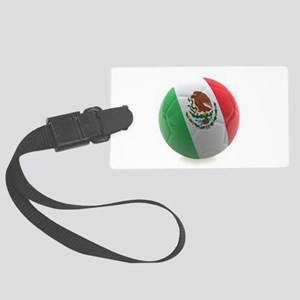 Mexico World Cup Ball Large Luggage Tag