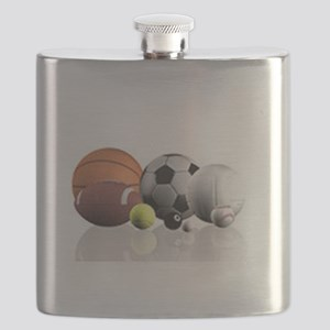 Sports Balls Flask
