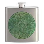 Celtic Triskele Flask