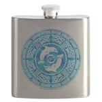 Celtic Dolphins Flask