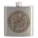 Celtic Dog Flask