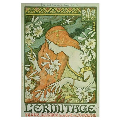 L'Ermitage (colour litho) Poster