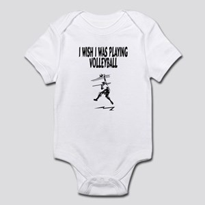 Playing Volleyball Infant Bodysuit