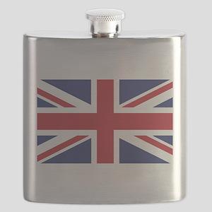 Flag of the United Kingdom Flask