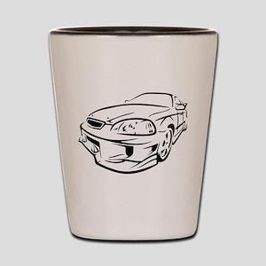 Racer Shot Glass