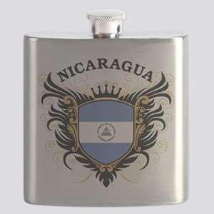 Nicaragua Flask