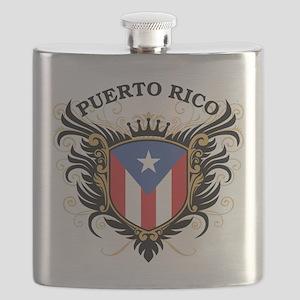 Puerto Rico Flask
