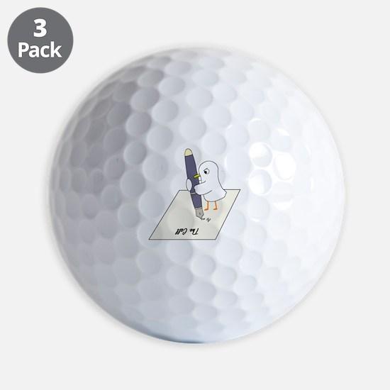 Poet Golf Ball