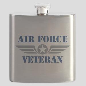 Air Force Veteran Flask