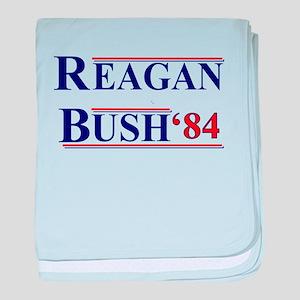 Reagan Bush '12 baby blanket