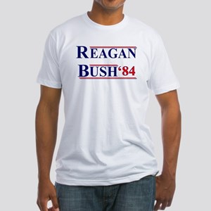 Reagan Bush '12 Fitted T-Shirt