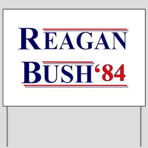 Reagan Bush '12 Yard Sign