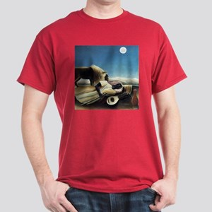 Henri Rousseau The Sleeping Gypsy Dark T-Shirt