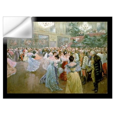 Court Ball at the Hofburg, 1900 (w/c) Wall Decal