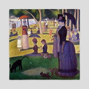 Georges Seurat La Grande Jatte Queen Duvet