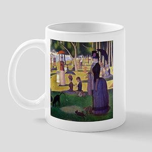 Georges Seurat La Grande Jatte Mug