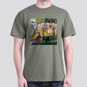 Georges Seurat La Grande Jatte Dark T-Shirt