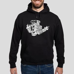 Hot Rod Engine Hoodie (dark)