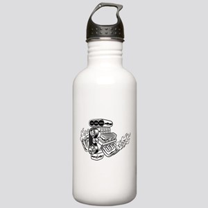 Hot Rod Engine Stainless Water Bottle 1.0L