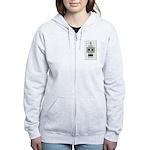 Tiled Bender Women's Zip Hoodie