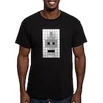 Tiled Bender Men's Fitted T-Shirt (dark)
