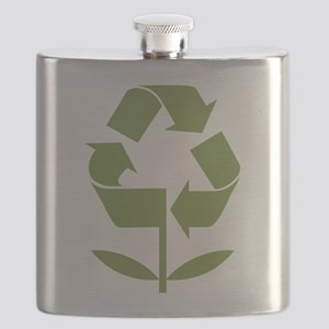 Recycle Flower Flask