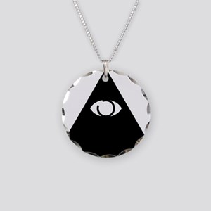 Illuminati Necklace Circle Charm