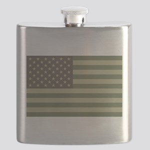 us_flag_camo Flask