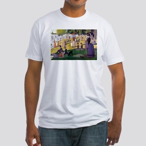 Georges Seurat La Grande Jatte Fitted T-Shirt