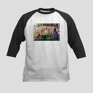 Georges Seurat La Grande Jatte Kids Baseball Jerse