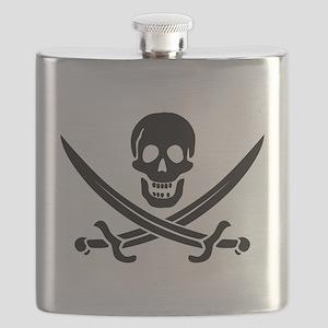 Calico Jack Pirate Flask