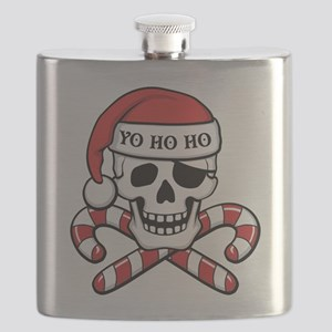 Christmas Pirate Flask