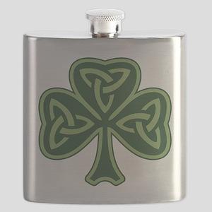 Trinity Shamrock Flask