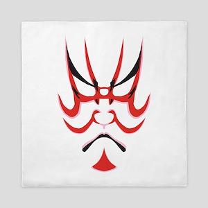 Kabuki Mask Queen Duvet