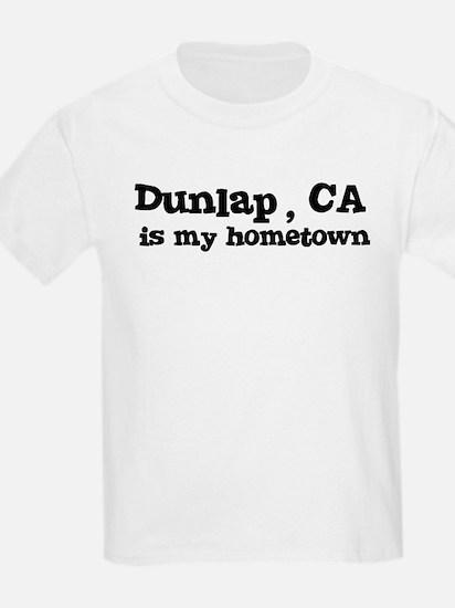 Dunlap - hometown Kids T-Shirt