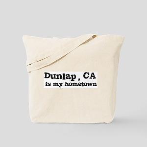 Dunlap - hometown Tote Bag