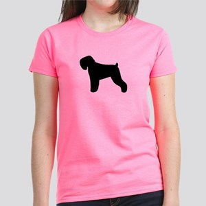 Black Russian Terrier Women's Dark T-Shirt